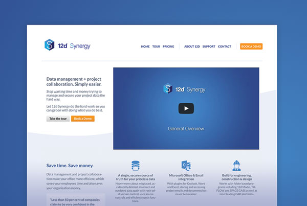12d Synergy Website